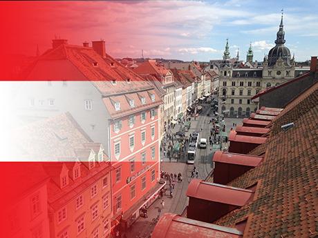 Onlinejournalismus-Absolvent Benjamin ging für ein Semester nach Graz in Österreich.