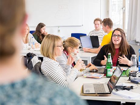 Lehrveranstaltung im Studiengang Onlinejournalismus